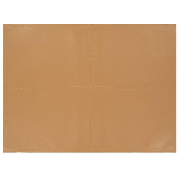 Set de table aspect cuir country crema achat vente set for Set de table chic