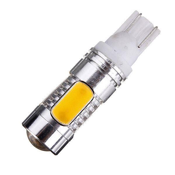 ampoule lampe voiture ambre jaune 5 led smd 7 5w cob t10 w5w lumi re a077 ampoule lampe. Black Bedroom Furniture Sets. Home Design Ideas