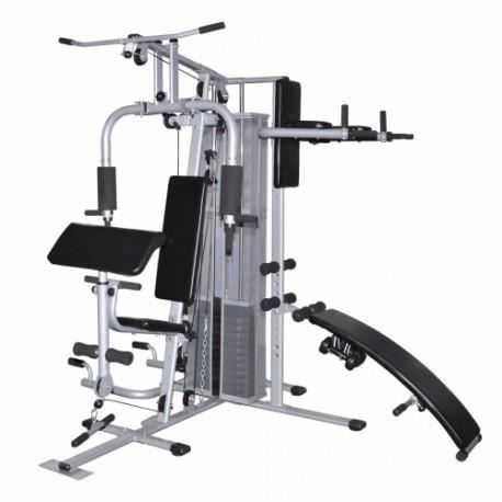 appareil musculation 50 exercices possibles achat. Black Bedroom Furniture Sets. Home Design Ideas