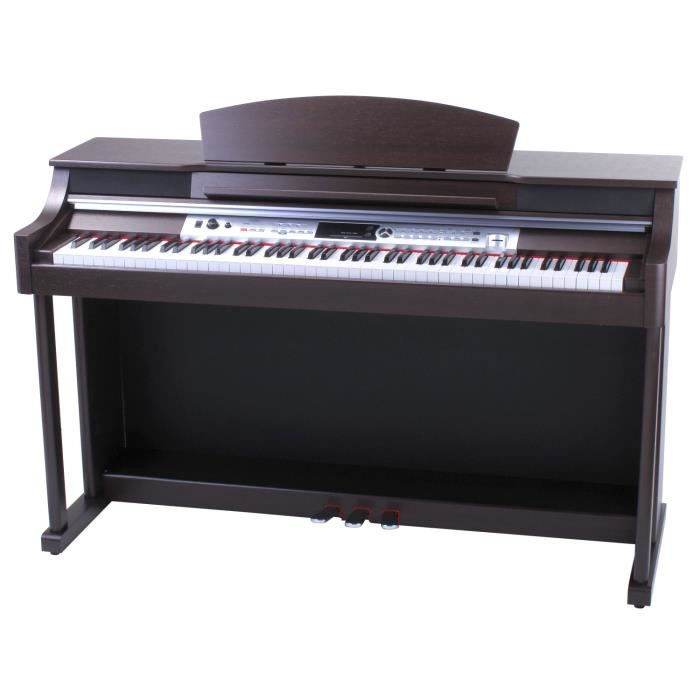 classic cantabile dp 60 piano num rique bois de rose pas. Black Bedroom Furniture Sets. Home Design Ideas