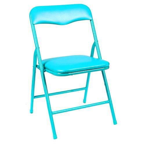 Chaise Pliante Enfant Bleu Turquoise Achat Vente