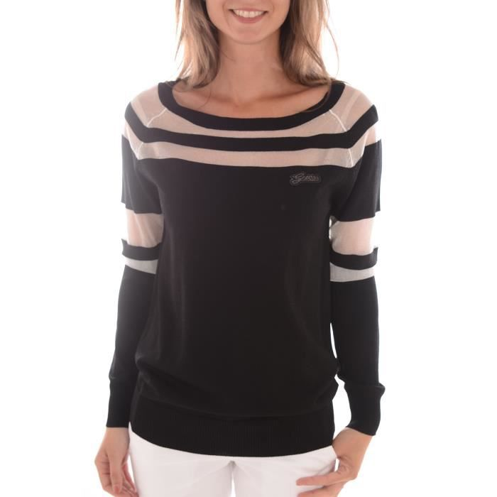 GUESS Pull femme noir Achat / Vente pull