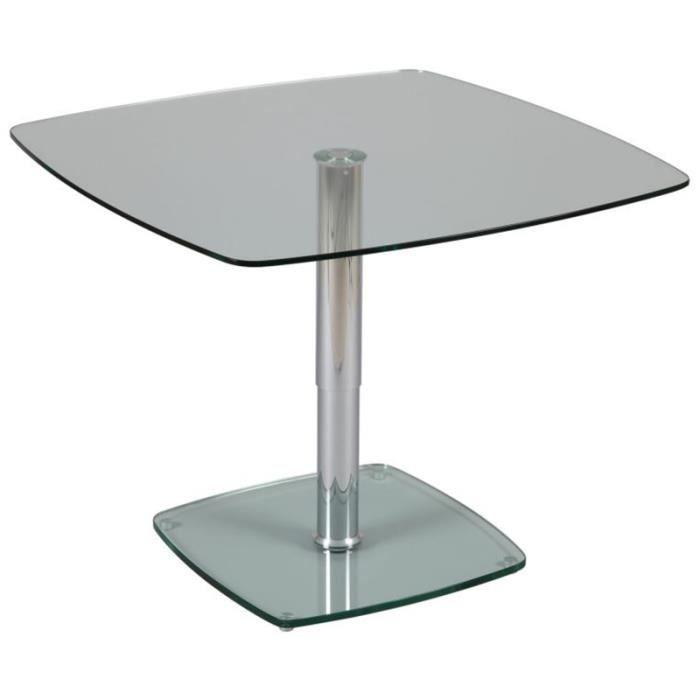 Table r glable en hauteur x x ht de 445 712 mm achat vente - Table basse reglable en hauteur ...
