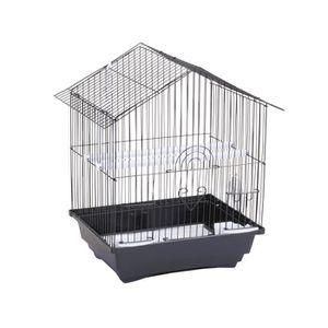 cage a oiseaux en fer achat vente cage a oiseaux en fer pas cher cdiscount. Black Bedroom Furniture Sets. Home Design Ideas