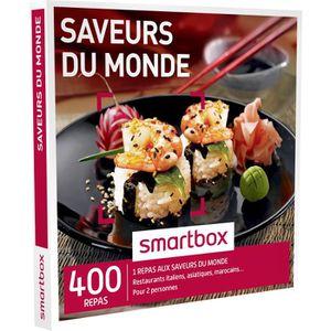 COFFRET GASTROMONIE Coffret Cadeau Saveurs du monde - 280 repas : rest