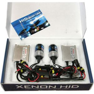 PHARES - OPTIQUES KIT PHARES FEUX XENON HID TUNING H1 8000 SLIM 55W