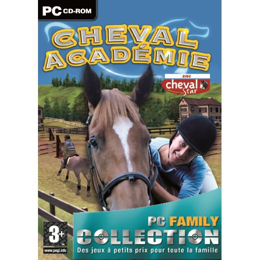 cheval academie gold collection jeu pc cd rom achat vente jeu pc cheval academie pc. Black Bedroom Furniture Sets. Home Design Ideas