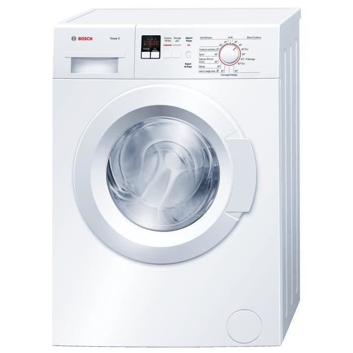 CDISCOUNT - BOSCH Lave Linge Compact WLX20161FF