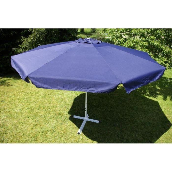 parasol de jardin bleu 4 m achat vente parasol parasol. Black Bedroom Furniture Sets. Home Design Ideas