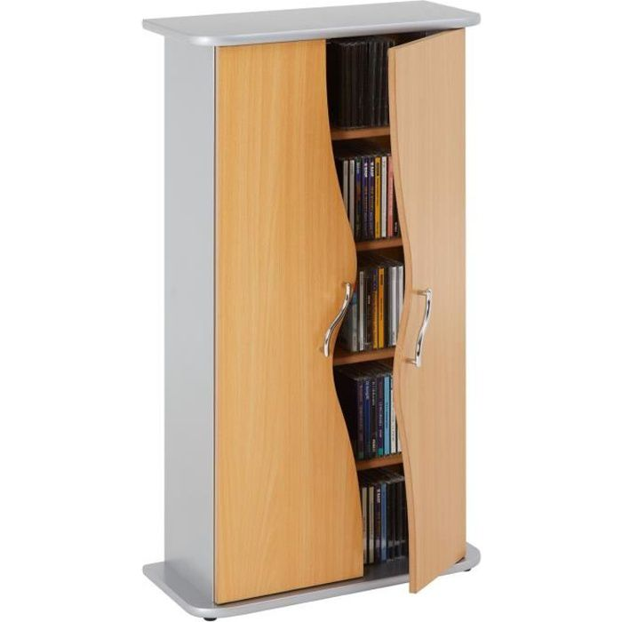 armoire range cd dvd wave achat vente meuble range cd. Black Bedroom Furniture Sets. Home Design Ideas