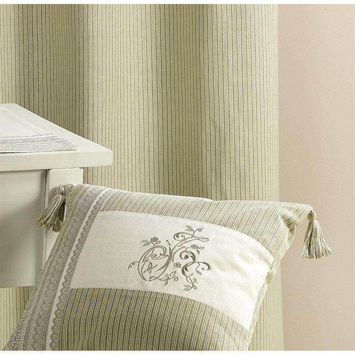 coussin brod avec pompon gris 40 x 40cm achat vente coussin cdiscount. Black Bedroom Furniture Sets. Home Design Ideas