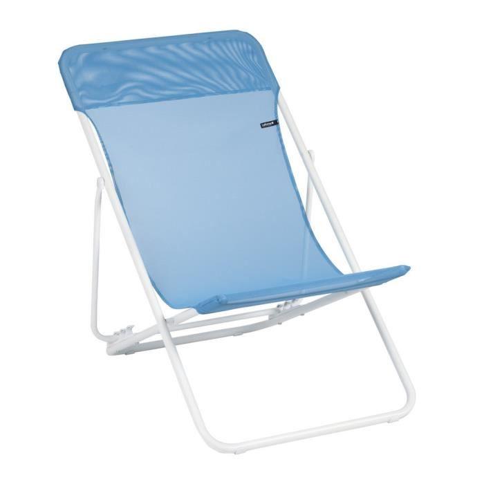lafuma pont maxi transat meubles de jardin pont achat vente chaise longue pont maxi. Black Bedroom Furniture Sets. Home Design Ideas