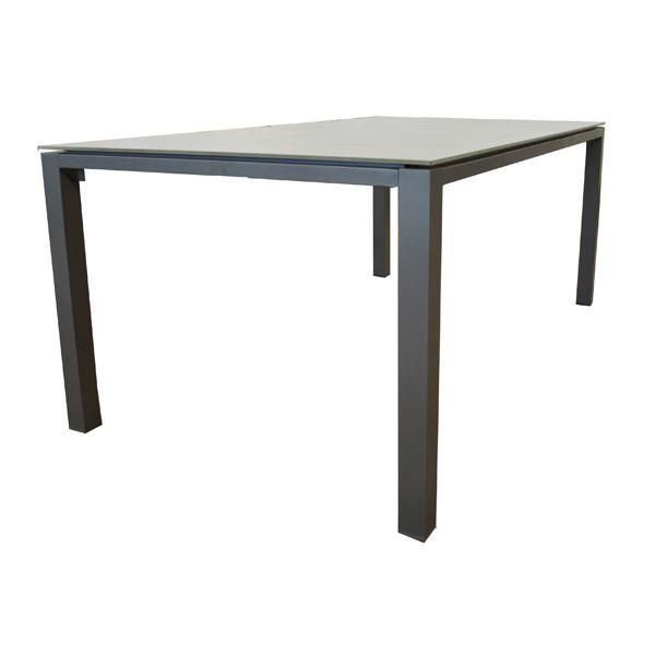 Table de jardin en aluminium 220 champagne spar achat for Plateau pour table de jardin