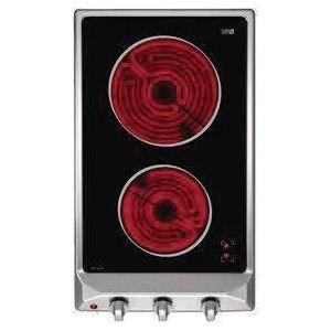 teka domino vitroc ramique vm 302pt vm 30 2p t alumi table de cuisson. Black Bedroom Furniture Sets. Home Design Ideas