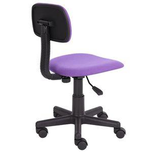 fauteuil de bureau couleur violet achat vente fauteuil de bureau couleur violet pas cher. Black Bedroom Furniture Sets. Home Design Ideas