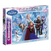PUZZLE LA REINE DES NEIGES Puzzle brillant 104 pièces Cle