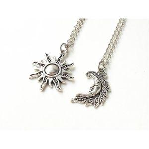 SAUTOIR ET COLLIER Collier de Sun et de lune, colliers damitié,