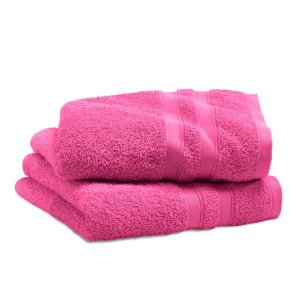 Drap de bain city rose 100 x 150 cm achat vente serviettes de bain cdis - Cdiscount linge de maison ...