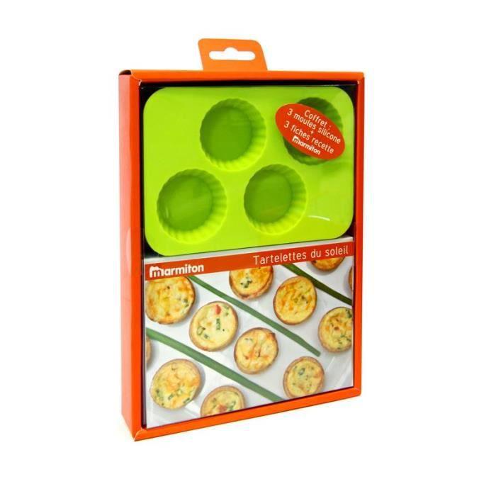 coffret mini moules tartelettes du soleil achat vente moule coffret mini moules tarte. Black Bedroom Furniture Sets. Home Design Ideas