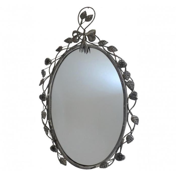 miroir ovale achat vente miroir ovale pas cher cdiscount