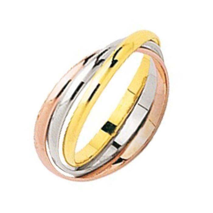 bague 3 anneaux 3 ors 1 5 mm trois ors achat vente bague anneau bague 3 anneaux 3 ors. Black Bedroom Furniture Sets. Home Design Ideas