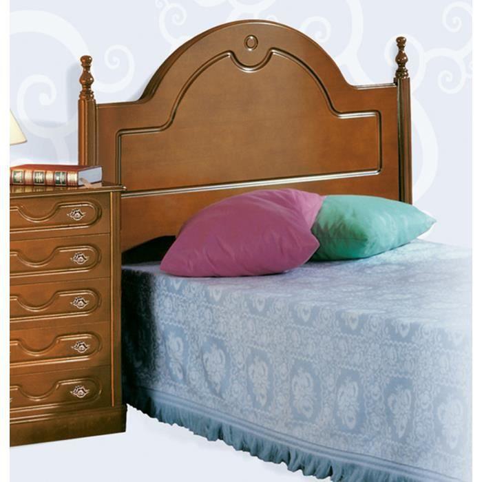 t te de lit h tre en mdf 104 x 100 x 5 cm achat vente t te de lit t te de lit h tre en mdf. Black Bedroom Furniture Sets. Home Design Ideas