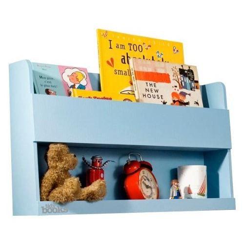 Tidy books rangement pour lits superpos s bleu achat - Tablette pour lit superpose ...