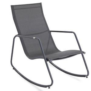 fauteuil a bascule jardin achat vente fauteuil a bascule jardin pas cher cdiscount. Black Bedroom Furniture Sets. Home Design Ideas