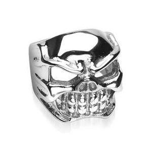 BAGUE - ANNEAU Bague skull taille 70