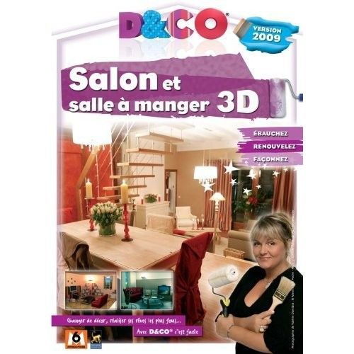 d co salon et salle a manger 3d version 2009 lo prix