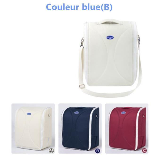 1xmultifonction sac langer 100 coton et nylon haute qualit et pratique blue bleu achat. Black Bedroom Furniture Sets. Home Design Ideas