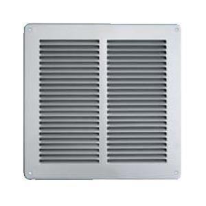 grille ventilation 240x240mm inox avec moustiquaire achat vente vmc accessoires vmc. Black Bedroom Furniture Sets. Home Design Ideas