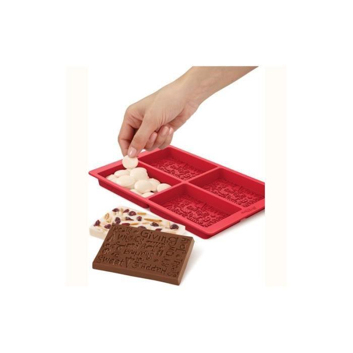 moule tablette de chocolat de no l wilton achat vente. Black Bedroom Furniture Sets. Home Design Ideas