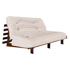 futon 2 places achat vente futon 2 places pas cher cdiscount. Black Bedroom Furniture Sets. Home Design Ideas