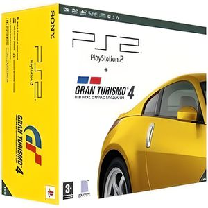 CONSOLE PS2 CONSOLE PS2 + GT4