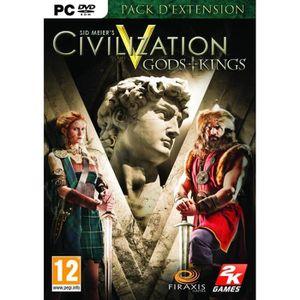 JEU PC CIVILIZATION V GODS & KINGS / Jeu PC