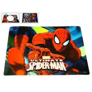 nappe de table nappe individuel 3d spiderman avec moto