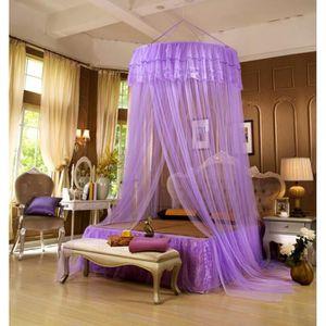 moustiquaire lit adulte achat vente moustiquaire lit adulte pas cher cdiscount. Black Bedroom Furniture Sets. Home Design Ideas