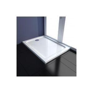receveur de douche 90x70 achat vente receveur de douche 90x70 pas cher cdiscount. Black Bedroom Furniture Sets. Home Design Ideas