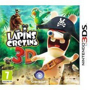 JEU 3DS The Lapins Crétins 3DS - Retour vers le passé
