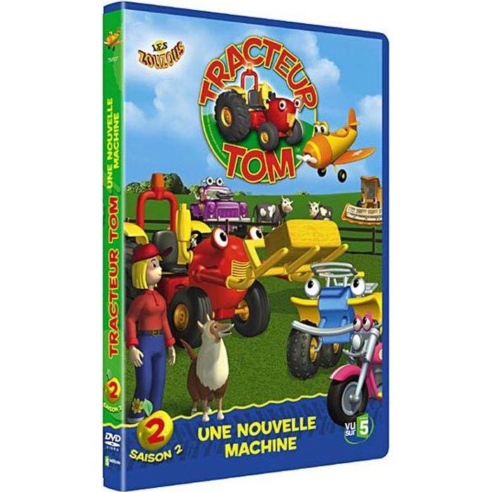 Dvd tracteur tom saison 2b une nouvelle machine en dvd - Tracteur tom avion ...