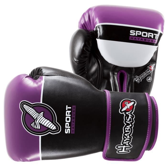gants de boxe hayabusa sport traning 12oz mauve prix. Black Bedroom Furniture Sets. Home Design Ideas