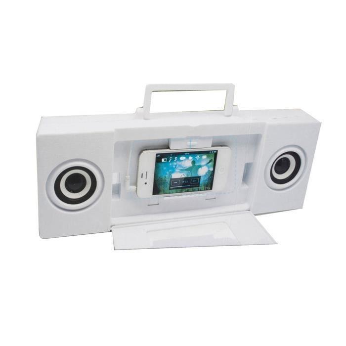 Haut parleur lecteur mp3 karaok pour enfants blanc achat vente mp3 enf - Cdiscount lecteur mp3 ...