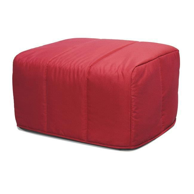 pouf convertible cubo rouge achat vente chauffeuse. Black Bedroom Furniture Sets. Home Design Ideas