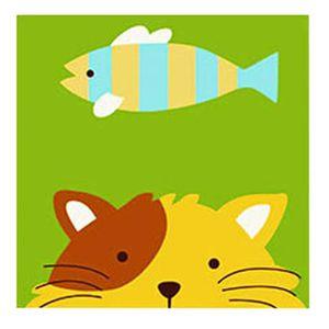 Tableaux peinture sur toile chat achat vente tableaux for Peinture a lhuile couleur argent