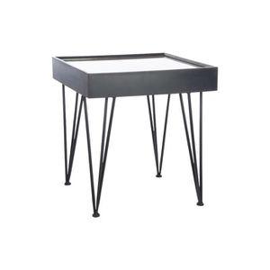 Table appoint bois et metal achat vente table appoint - Table d appoint en bois ...