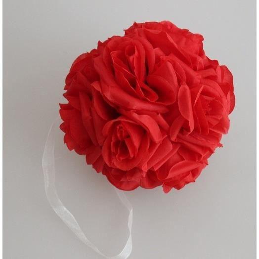 bouquet de rose rouge faux artificiel fleurs avec bande de With affiche chambre bébé avec fleur artificiel mariage