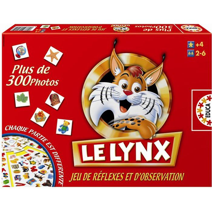le lynx achat vente jeu soci t plateau soldes d t cdiscount. Black Bedroom Furniture Sets. Home Design Ideas