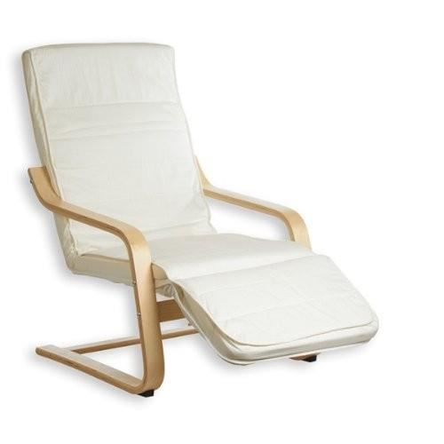 Fauteuil relax avec repose jambes kessi beige achat vente fauteuil tissu - Fauteuil relax beige ...