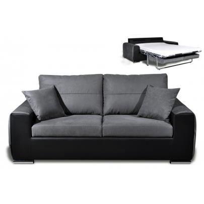 canap 3 places convertible express en simili et m achat. Black Bedroom Furniture Sets. Home Design Ideas
